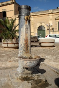 La fontana del fascio