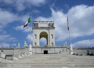 Sacrario militare, in memoria dei Caduti della Grande guerra
