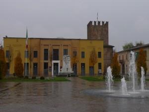 Teatro comunale e Monumento ai Caduti