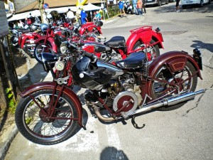 Moto Guzzi a Montepiano