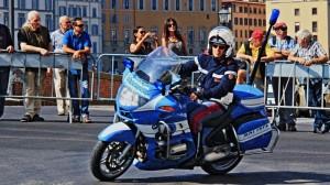 Moto di staffetta dei Mondiali di Ciclismo