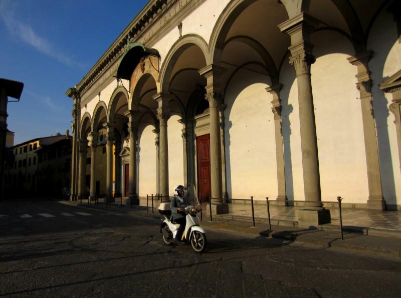 ''Solitaria in ZTL'' - Firenze