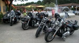 Raduno delle Harley Davidson