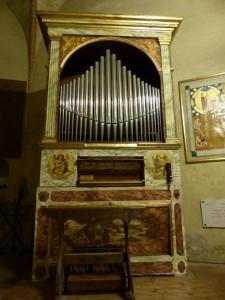 Piccolo organo chiesa S.Bernardino