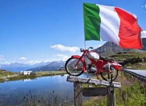 """""""Motocicletta patriottica"""""""