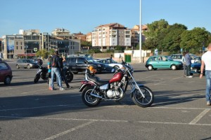 Kawasaki in Piazzale A. Segni