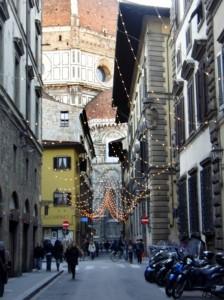 Via dei Servi a Firenze