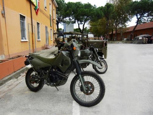 Forlì - Moto Cagiva da ricognizione