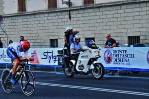 Moto al seguito dei Mondiali di Ciclismo