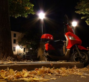 Rossa by night