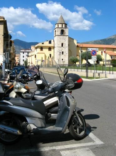Fondi - In moto verso S. Francesco