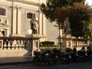 Ai giardini della Cattedrale