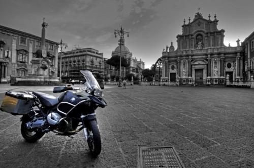 Catania - Alba con l'elefantino