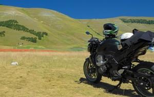 In moto a Castelluccio