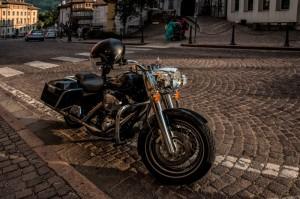 """In viaggio con l""""Harley-Davidson"""