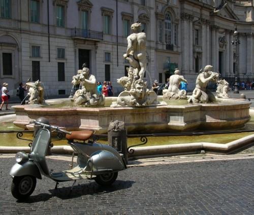 Roma - Vespa d'epoca