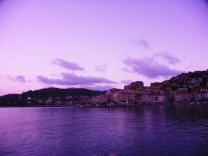 Tramonto a Porto Santo Stefano