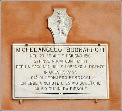 Targa_Michelangelo